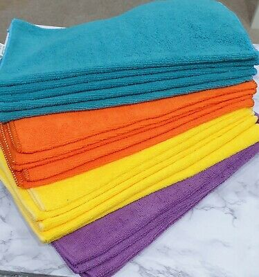 Large Microfibre Cleaning Car Detailing Soft Kitchen Cloths Wash Towel Duster