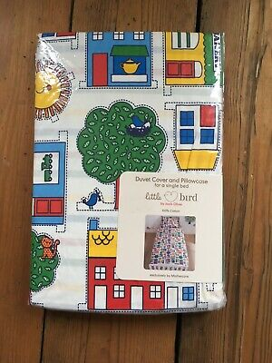NEW Mothercare Little Bird by Jools Oliver Gift  wrapping Paper Baby Rainbow Tag