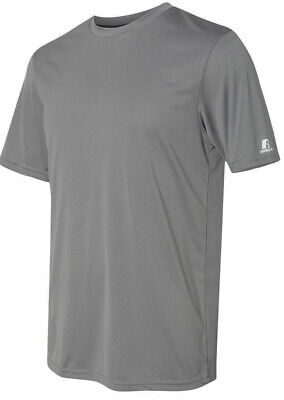 Russell Athletic Men/'s Dri Fit Performance T-Shirt Gym Tee Soccer Sport S-3XL