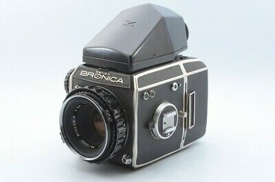 Zenza Bronica EC Medium FormatCamera w/100,75mm Adapter, Nikkor P 75mm 2.8 16985