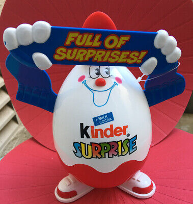 Kinder surprise full of surprises egg Easter chocolate Toy Chest German European