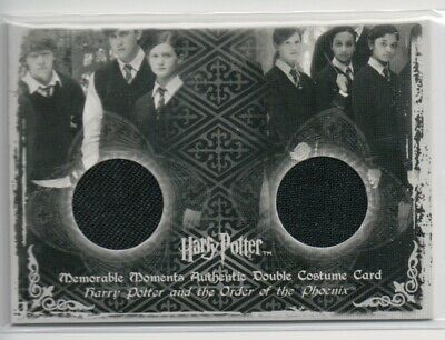 Harry Potter Double Costume Card Ron Ginny Weasley C11 299/300 MM Rupert Grint