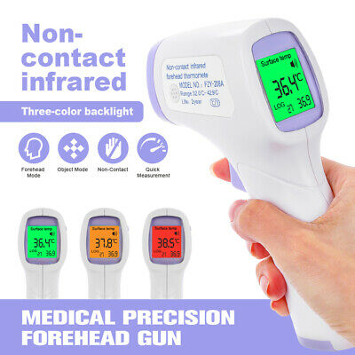 Infrared Thermometer LCD Laser Temperature Gun Non-contact Digital IR Temp Meter