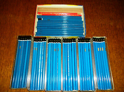 Job Lot Pencils New Old Stock Drawing Etc.  Some Boxed 90 Pencils