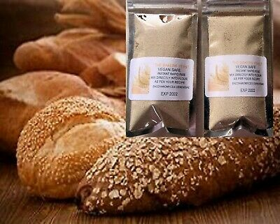Instant Dried Yeast 2 x 30g, = 60g Bread Maker Machine, Hand Baking Bakers