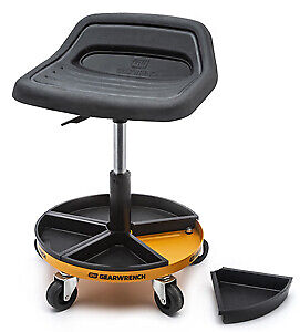 GEARWRENCH 86994 Roller Seat With Tractor Seat and Mag. Trays