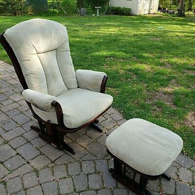 Dutailier Glider and Ottoman - LOCAL pickup only in Berkeley Height NJ