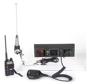 Daystar KJ71061BK GMRS Radio Mobile w/out Noise Control