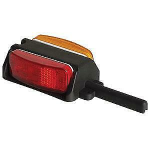 Optronics BA44FNLP Tail Light Assembly BA44 SERIES Red/ Yellow Lens