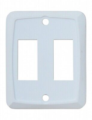 Valterra DG201PB Switch Plate Cover Diamond Group Double Opening