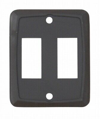 Valterra DG7218VP Switch Plate Cover Diamond Group Double Opening
