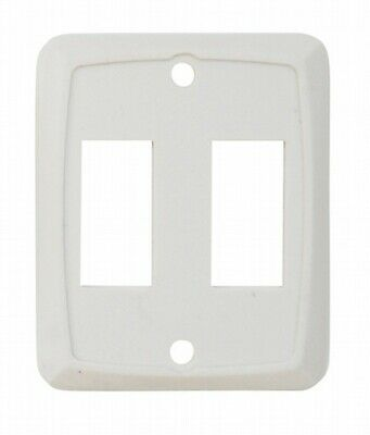 Valterra DG258PB Switch Plate Cover Diamond Group Double Opening