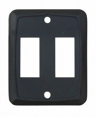 Valterra DG215PB Switch Plate Cover Diamond Group Double Opening