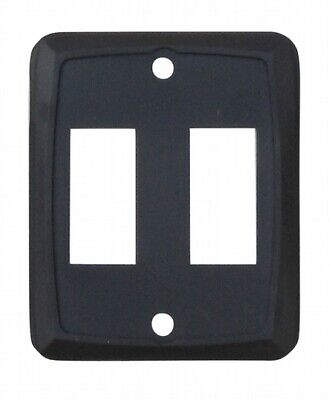 Valterra DG215VP Switch Plate Cover Diamond Group Double Opening