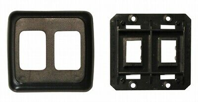 Valterra DGPB3215VP Switch Plate Cover Diamond Group Double Opening