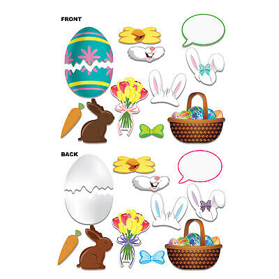 (12) Easter Photo Fun Signs prtd 2 sides w/different designs