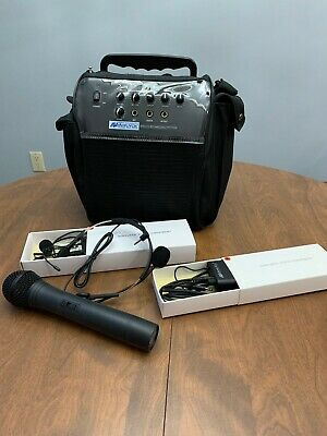 Amplivox Portable Sound System
