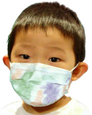 ValuMax Child Disposable Blue 3-PLY Earloop Protective Medical Face Mask 50/BOX