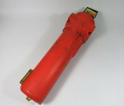 Domnick AA0085G Oil-X Pneumatic Filter *Damage to Gauge*  USED