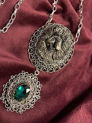 Victorian Chow Chow Necklace