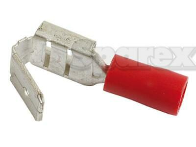 Pre Insulated Terminal Push On 6.3MM Female/Male red EFI.8540-SP