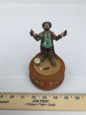 "Coca-Cola Emmett Kelly ""Refreshes You Best"" 1995  Musical Figurine"