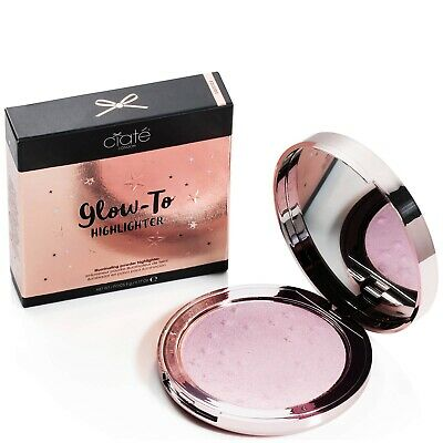 Ciate Glow-To Highlighter In Solstice New In Box! Full Size UK Pink Peach RRP$50
