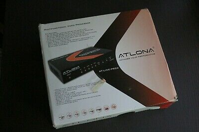 Atlona AT-LINE-PRO2 - VGA Composite SVideo to HD HDMI Video Scaler - FREE SHIP!