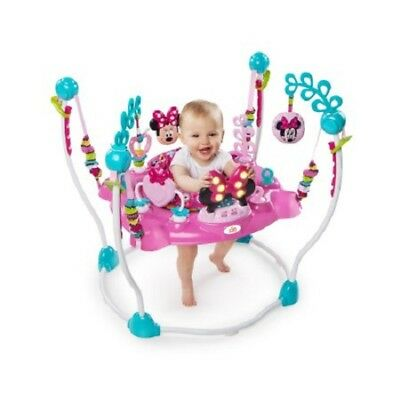 Baby Jumper Swing Jumping Activity Center Exerciser Stand Infant Child Pink Girl