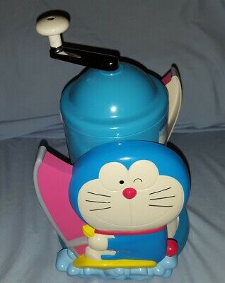 DORAEMON manual snow cone shaved ice machine Japan Japanese anime collectable