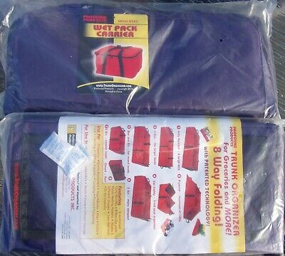 New! Trunk Organizer & Matching Large Insulated Carry/Storage Bag