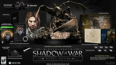 MIDDLE EARTH: shadow of war MITHRIL COLLECTORS EDITION