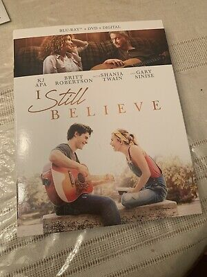 I Still Believe (Blu-Ray+DVD) w/SLIP No Code. Open But New. Free Shipping