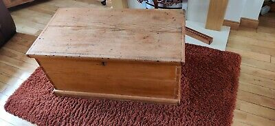 Wooden Dowry Chest trunk