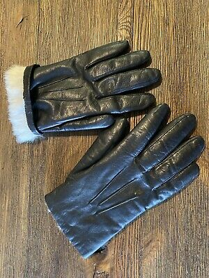 Wilson's Leather Women Fur Lined  Genuine Classic Gloves Size XL