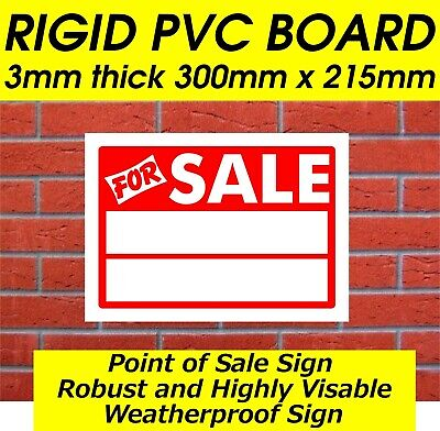 2X For Sale Sign Car Sale Sign Caravan Sale Sign House Sale Space To Add Details