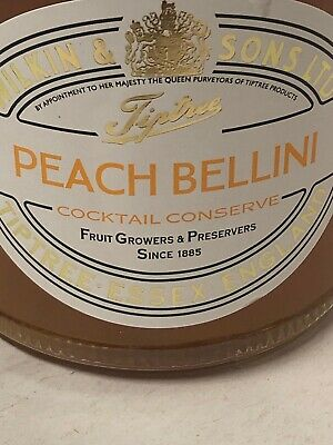 WILKIN & SONS LTD Tiptree Peach Bellini Cocktail Conserve 227g Made In England