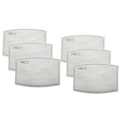 UK STOCK 6 PPE Filter Adults KIDS  Filter PM 2.5