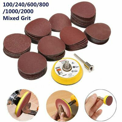 Dremel 50mm Sanding Disc Kit For Rotary Tool Drill Grinding Wheel Carbide Wood