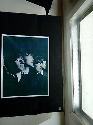 Vintage Original Promotional Photograph of a Beatles Early 1960's Album cover