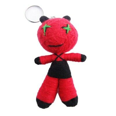 Key Ring Voodoo Doll Parrot Worry Puppet Red VD95