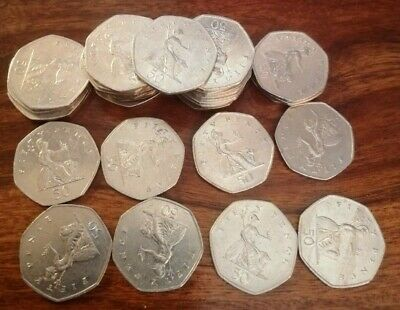 Seated Britannia 50p 1997 - 2008 coin hunt