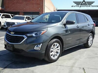 2019 Chevrolet Equinox LS 2WD 2019 Chevrolet Equinox Clean Title Damaged Rebuilder Project Won't Last L@@K