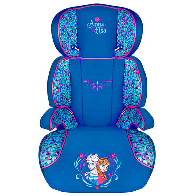 Disney FROZEN Child Girls 2in1 Car Booster Seat Forward Facing Group 2/3 15-36kg