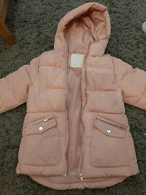 Girls Pink Coat Age 9