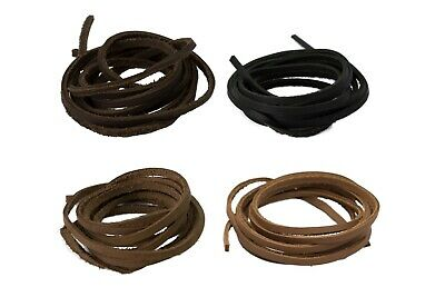 Genuine Premium Craft Jewellery Cowhide Leather Strip Cord Lace Thong String