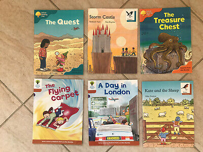 Oxford reading Tree Stage 9,8 &6 Read With Biff Chip & Kipper 6 Books