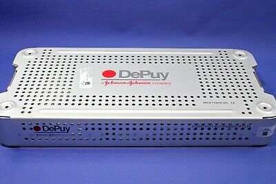 DEPUY Surgical instrument Sterilization case and lid Forefoot Ref:1139-01-001