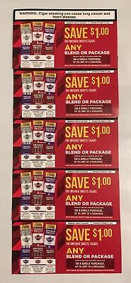 Swisher Sweets Cigars Coupons $5 Total - Exp 10/31/2021