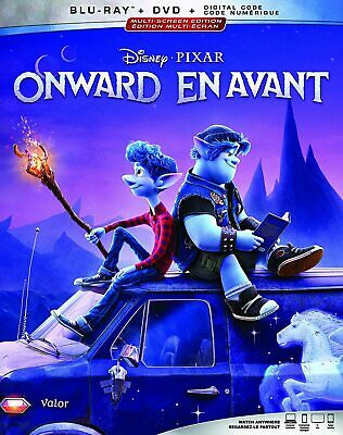 Onward (BLU-RAY/2020) 1 DISC with Case **AVAILABLE 28 MAY**